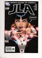 JLA #118 ZATANNA vs BATMAN COVER Permanently Damages Batman's Memories 2005 VF 1