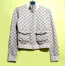 Burberry Plaid Check Classic Light Pink Jacket