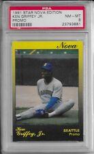 "KEN GRIFFEY JR. 1991 Star ""Nova"" PROMO (100 made) PSA NM-MT 8"