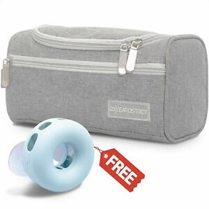 Travel Toiletry Bag for Bathroom Essentials Hanging Dopp Kit Organizer