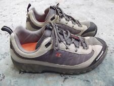 Garmont Mens Size 10 44 Leather Textile Low Lace Up Hiking Trail Shoes