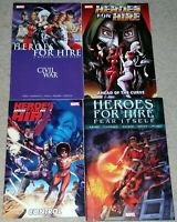 Heroes For Hire Civil War Ahead of the Curve Control Fear Itself TPB lot Vol 1 2