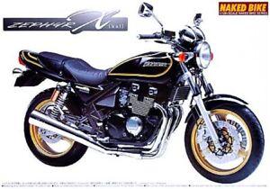 AOSHIMA 04855 1/12th SCALE KAWASAKI ZEPHYR 2002 PLASTIC MODEL MOTORCYCLE KIT