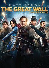 New  DVD - THE GREAT WALL - MATT DAMON , WILLEM DEFOE , Jing Tian,