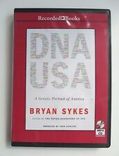 DNA USA: A Genetic Portrait of America  Brian Sykes UNABRIDGED  MP3 CD audiobook