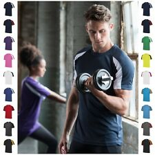 Mens Running Training Gym Sports T-Shirt Tee T Shirt Breathable Short Sleeve Top