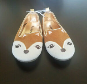 Old Navy Fox Suede-feel Toddler Shoe Slip-on Size 9 NWT