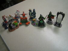 10 Lemax Spooky Town Witches MIRROR MIRROR Bat Pumpkims Tirck or Treaters