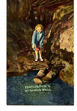 Brownie's Wishing Well-Coin-Cave Interior-Blue Mounds-Wisconsin-Vintage Postcard