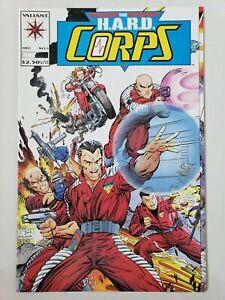 THE HARD CORPS #1-20, 22-25 (1992) VALIANT COMICS NEAR COMPLETE SET! LOT OF 24!