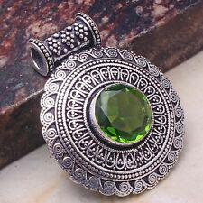 """Peridot Jewelry Handmade Pendant 1.6"""" AP 46467"""