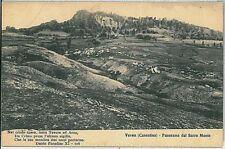 CARTOLINA d'Epoca AREZZO provincia - Verna
