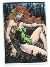 Poison Ivy Card Art - Signed art by Ray Dillon