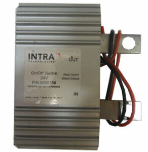 Solid State On/Off Switch with LED Indicator - 24v - (Intra 8000158) Old Stock!