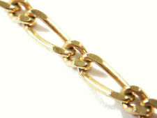 "Vintage 18K Gold Figaro Chain - 20"" Long - Stamped 750 - 6 Grams - Circa 1970's"