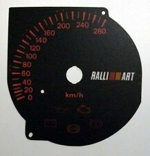 Lockwood Mitsubishi Evolution 7/8/9 BLACK Dial Conversion Kit C555