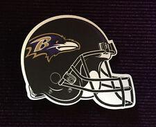 """NFL 3"""" BALTIMORE RAVENS Football Helmet Magnet Car Magnet Refrigerator Magnet"""