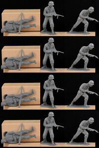 Marx WWII German Infantry - Chinese clones cast in 54mm - out of production set