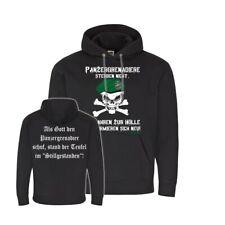 Pull à Capuche Grenadiers Sterben Pas Elle Fahren Au Enfer Pz #31984