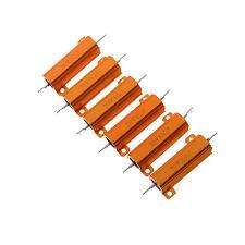 50W vatios Shell Power aluminios alojados casos wirewound resistor 1/2/4/6/10STG