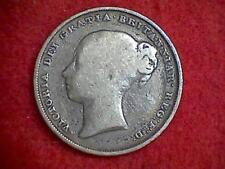 1839 Great Britain Shilling 1 Shilling #2 KM#734.1