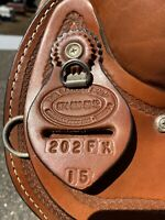 "Dakota Trail 15"" Saddle 202 FX The Saddle Shop All Leather With Accessories"