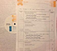 RADIO SHOW:9/16/87 SEPT. B-DAYS! BILL MEDLEY, DAVID CLAYTON-THOMAS, PETER CETERA