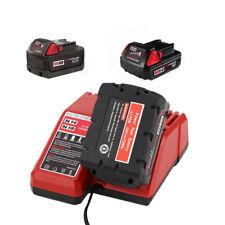 14V/18V Li-ion Battery Charger 110V-240V for MILWAUKEE M18 48-11-1811 48-11-1840