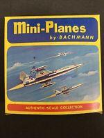 Vintage BACHMANN MINI PLANES USAF F-104 Starfighter 8004-59 New in box