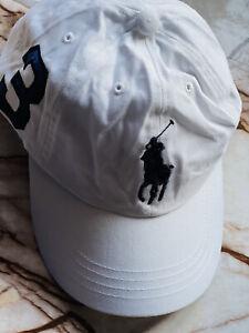 BNWT POLO RALPH LAUREN POLO  SPORT CAP/HAT IN WHITE
