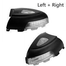 Left Right Wing Mirror LED Turn Signal Indicator Light Fit VW Sharan Tiguan Seat