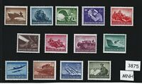 Complete MNH WWII stamp set / Military Hero's / Armed forces 1944 / Third Reich