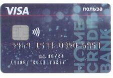 Russia Visa Debit Card HOME CREDIT & FINANCE BANK