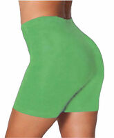 NEW LADIES CYCLING DANCE EVERYDAY SPORTS ACTIVE CASUAL PLUS SIZE  SHORTS UK 8-22