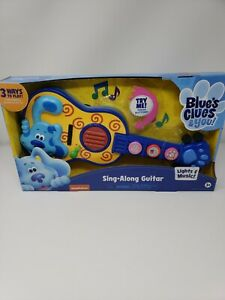Blues Clues & You Sing Along Guitar - NEW Toy Guitar Instrument Songs Music Kids