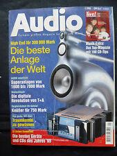 Audio 1/96 meracus intrare, b&w CDM 1, Marantz CD 63 se, Sony CDP xa 3 es, Ares Jet