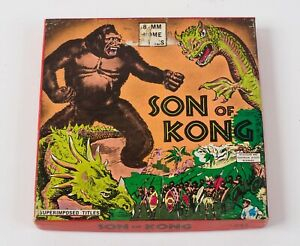 SON OF KONG Vintage 8mm Movie Reel #247 Black/White Superimposed Titles