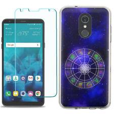 TPU Phone Case for LG Stylo 5 w/ Tempered Glass - Horoscope