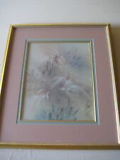 Lena Liu Goldfishes Signed & Numbered 351/950 Limited Edition Print, Framed