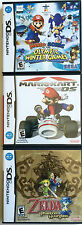 3 GREAT NINTENDO DS GAMES ~ LEGEND OF ZELDA ~ MARIOKART ~ MARIO & SONIC OLYMPICS
