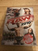 WWE: Raw - The Best of 2010 (DVD, 2010, 3-Disc Set)