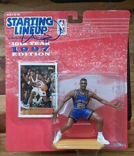 AUTOGRAPHED! Allan Houston Starting Lineup NBA New York Knicks 1997