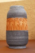 SUPERB MCM ITALIAN MODERN FRATELLI FANCIULLACCI CARVED VASE for RAYMOR BITOSSI