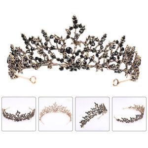 1 pc Women's Crystal Headband Rhinestones Headdress Princess Tiara Hair Jewelry