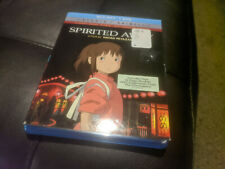 Spirited Away Blu-Ray + Dvd with Slipcover* Miyazaki *
