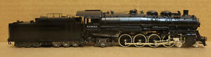 Sunset AT&SF 3700 Class 2 Dome Spoked Driver Oil Tender 4-8-2 Santa Fe Brass HO