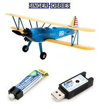 E-flite UMX PT-17 BNF Radio Control Airplane with AS3X EFLU3080 HH