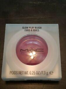 MAC COSMETICS Glow Play Blush  ROSY DOES IT  7.3 g / .25 oz