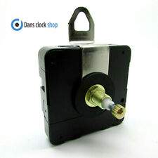 New Replacement Quartz High Torque Ticking Clock Movement Mechanism 20mm shaft