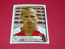 30 J. HEITINGA AJAX AMSTERDAM UEFA PANINI FOOTBALL CHAMPIONS LEAGUE 2005 2006